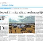 Migratie minimaliseren is het beste voor zowel Europa als Afrika